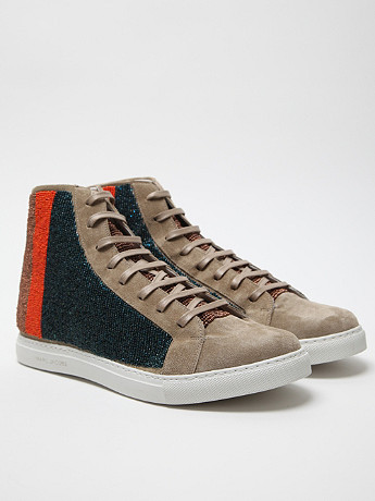 Marc Jacobs Men's Beaded High Top at セレクトショップ oki-ni