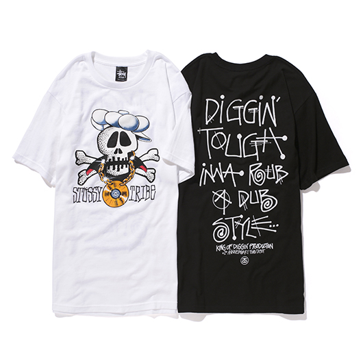 """Stussy x King Of Diggin' Production """"Digot 2nd Anniversary"""" T-Shirts : STUSSY JAPAN OFFICIAL SITE"""