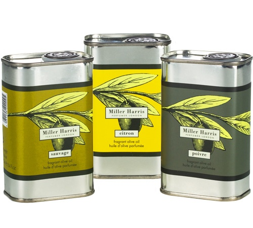 Gourmet Gifts: Miller Harris' Scented Olive Oils - Vogue Daily - Vogue