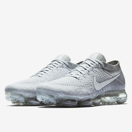 NIKE AIR VAPORMAX FLYKNIT 【PURE PLATINUM】 (ナイキ エア ヴェイパーマックス フライニット 【ピュア プラチナ】) 849558-004 | Never Clothes