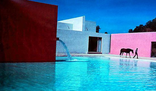 REFRACTION: Luis Barragán - San Cristobal Stables