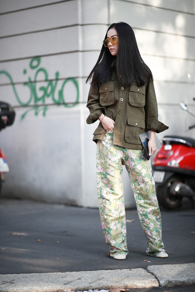 Best Street Style Looks of MFW Spring 2019 | The Fashion Medley