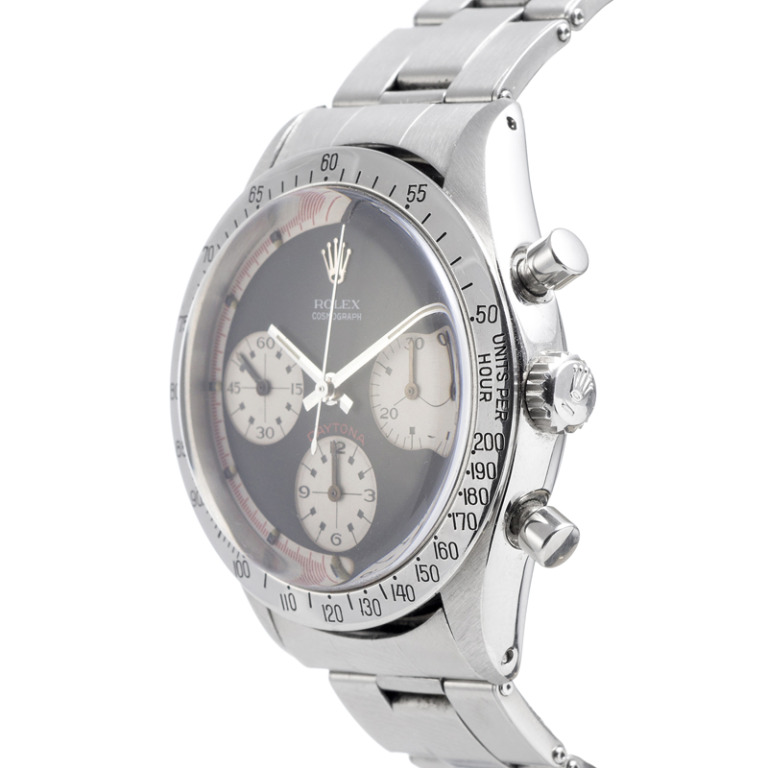 "Rolex Stainless Steel ""Exotic Dial"" Daytona Wristwatch Ref 6239 circa 1960s at 1stdibs"