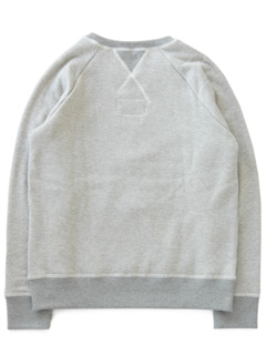 LOVE online store|MEN  Pile Sweat Shirts (mix grey)