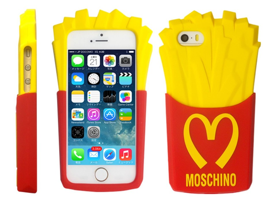 MOSCHINO SPECIAL EDITION FW14 - CAPSULE COLLECTION IPHONE 5 CASE - LUISAVIAROMA - LUXURY SHOPPING WORLDWIDE SHIPPING - FLORENCE