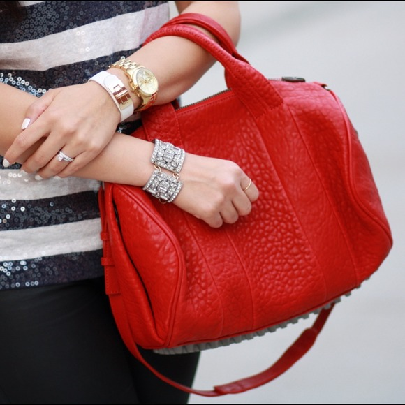 6% off Alexander Wang Handbags - Alexander Wang rocco in red limited edition from Miriam's closet on Poshmark