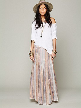 CP Shades Bubble Gum Stripe Maxi at Free People Clothing Boutique