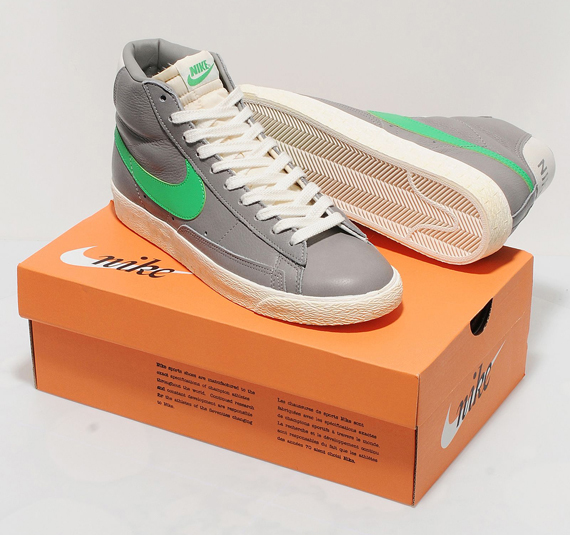 Nike Blazer High – Stussy-Inspired Size? Exclusives | SneakerNews.com