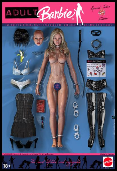 Adult Barbie (Contains Nudity) - 3D and 2D Art - ShareCG