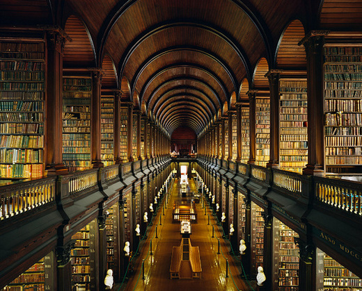『Trinity College Library』: Laune Tagebuch