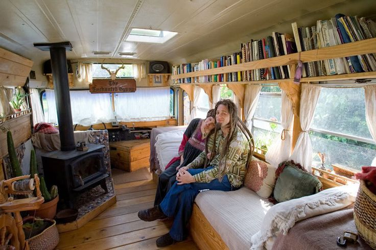 Tiny House Swoon - The Enchanted Gypsy Bus Home ... | Camper Ideas