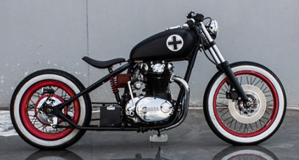 XS 650 Bobber built by One One customs