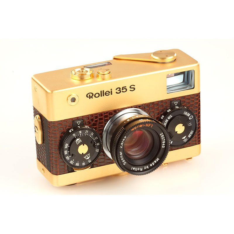 Rollei 35S Gold , SN: 0030, 1979 : Lot 408