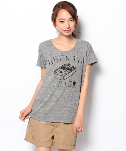 TOKYO CULTUART by BEAMS(トーキョー カルチャート by ビームス) - かせきさいだぁ / OBENTO HILLS T-shirt(Lady's)(Tシャツ・カットソー)|ビームス公式通販[BEAMS Online Shop]