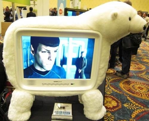 Get Your Polar Bear TV in Time for the Premiere of Lost - Tech - Late Night with Jimmy Fallon
