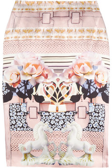Mary Katrantzou | Printed silk pencil skirt | NET-A-PORTER.COM