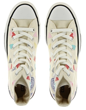 Converse | Converse All Star Confetti Print High Top Trainers at ASOS