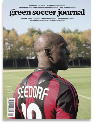 The Green Soccer Journal - Shop - Issue One Winter 2010 -?Seedorf