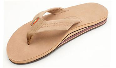 Double Layer Premier Leather with Arch Support