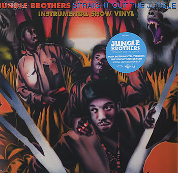 Jungle Brothers Straight Out The Jungle : Instrumental Show Vinyl UK DOUBLE LP (352027)