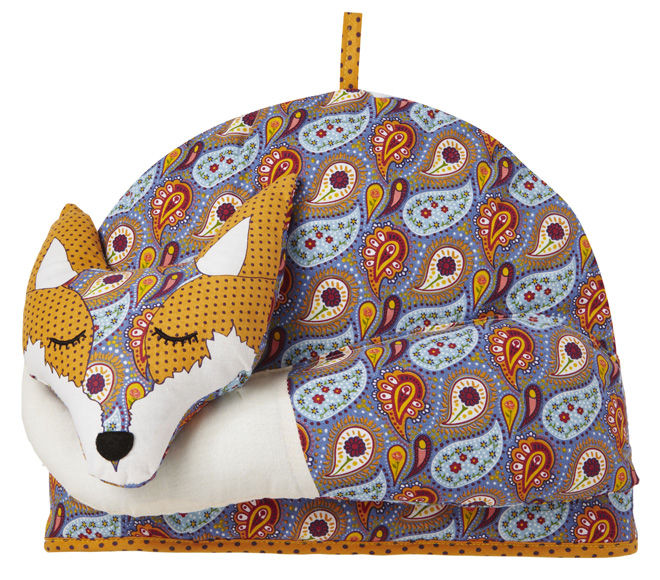 Fox Shaped Tea Cosy by Ulster Weavers - THE DISTINGUISHED
