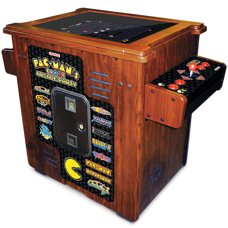 The 30th Anniversary Authentic Pac-Man Arcade Cocktail Table - Hammacher Schlemmer