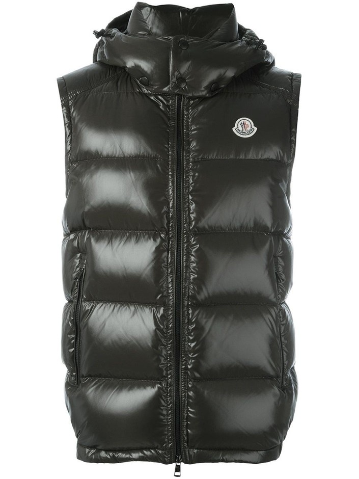 Moncler Lacet ダウンベスト - Apropos The Concept Store - Farfetch.com