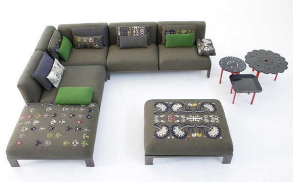 Patricia Urquiola Furniture Collection - new Fergana for Moroso | Ultra Modern Decor