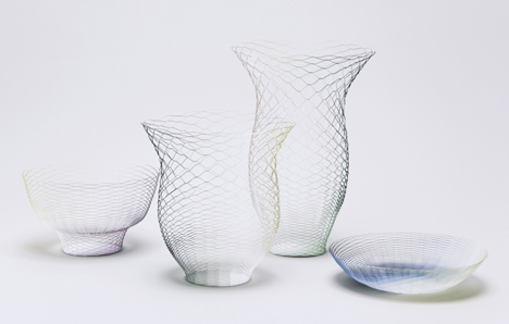 Gradation and Cube Air Vases by Torafu Architects for Ligne Roset - Dezeen