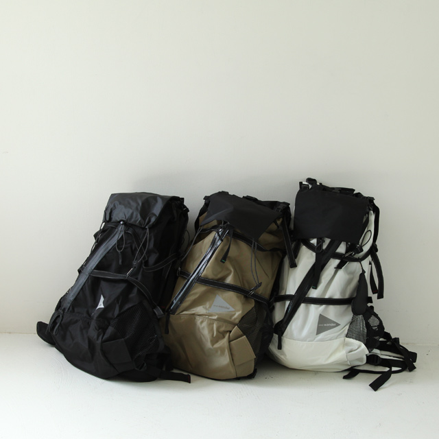 and wander 40L Backpack - Silver and Gold Online Store