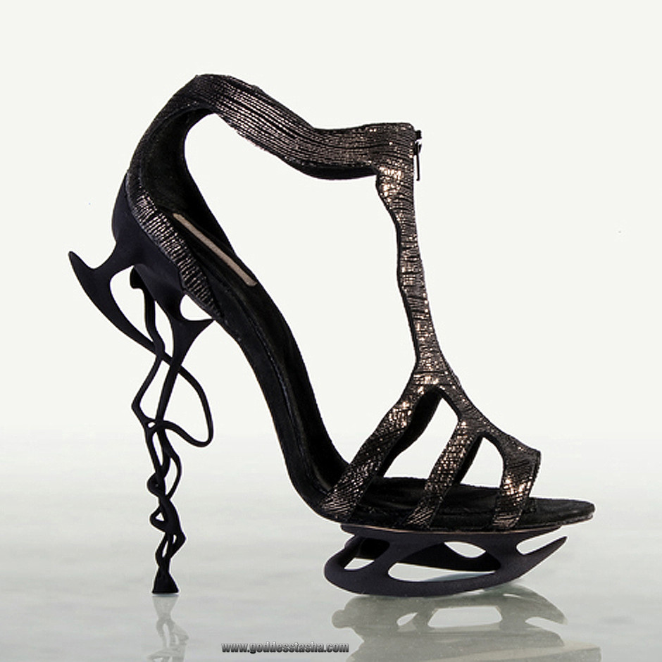 Shoe Art: Designs by Anastasia Radevich « Only High Heels