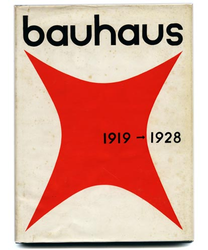 Bayer, Gropius and Gropius [Editors]: BAUHAUS 1919-1928. Boston: Branford, 1952.