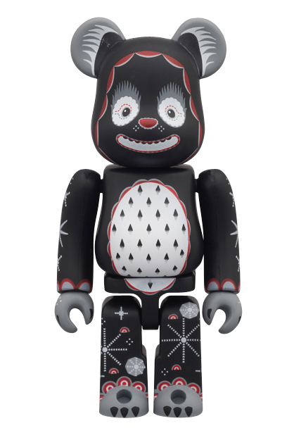 MEDICOM TOY - KLAUS HAAPANIEMI BE@RBRICK Snowing Bear