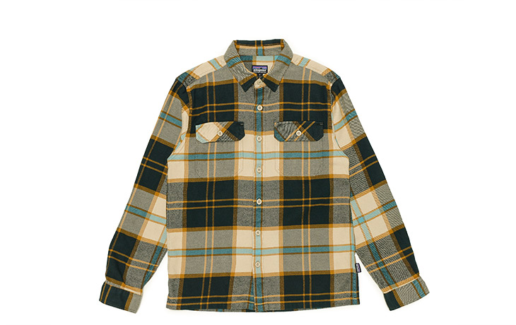 Patagonia/M's L/S Fjord Flannel Shirts-SPEC