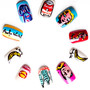 Warhol Nail Tips by Nevertoomuchglitter - Fabfive ファブファイブ
