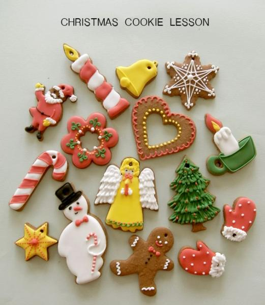 Christmas Ornament cookie Lesson - THUMB AND CAKES
