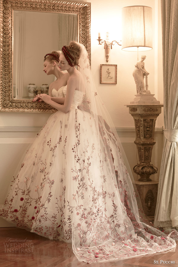 St. Pucchi 2014-2015 Couture Bridal Collection — + Interview with Designer Rani Totman   Wedding Inspirasi