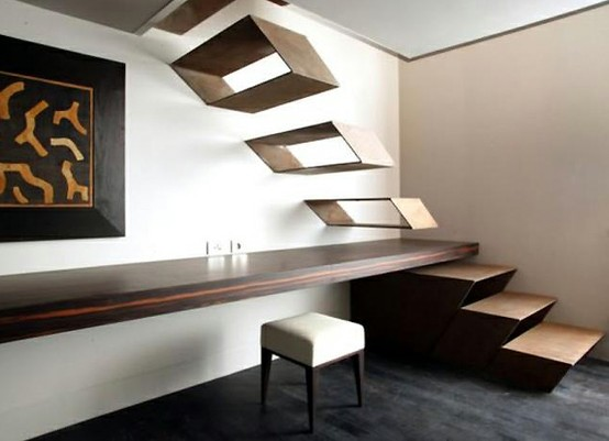 home products / Floating Staircase by Guido Ciompi