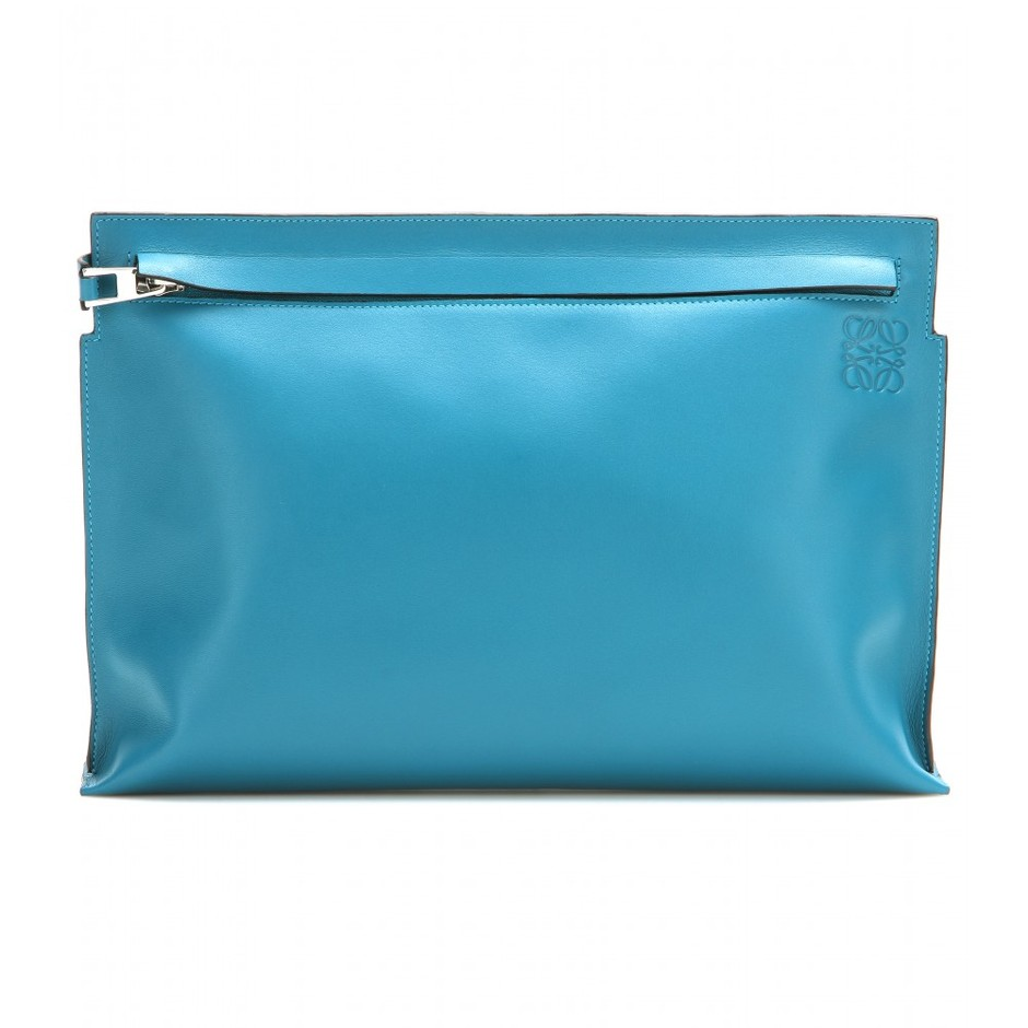 mytheresa.com - Grande leather clutch - Current week - New Arrivals - Loewe - Luxury Fashion for Women / Designer clothing, shoes, bags