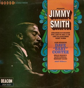 """Starring Jimmy Smith, Also Starring Dave """"Baby"""" Cortez by Jimmy Smith : Reviews and Ratings - Rate Your Music"""