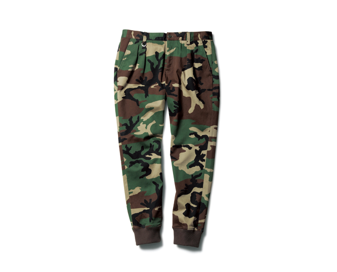 SOPHNET. | PRODUCT | STRETCH COTTON RIBBED 2TUCK PANT