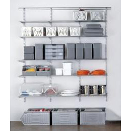 The Container Store > Platinum elfa Easy Hang Utility Storage