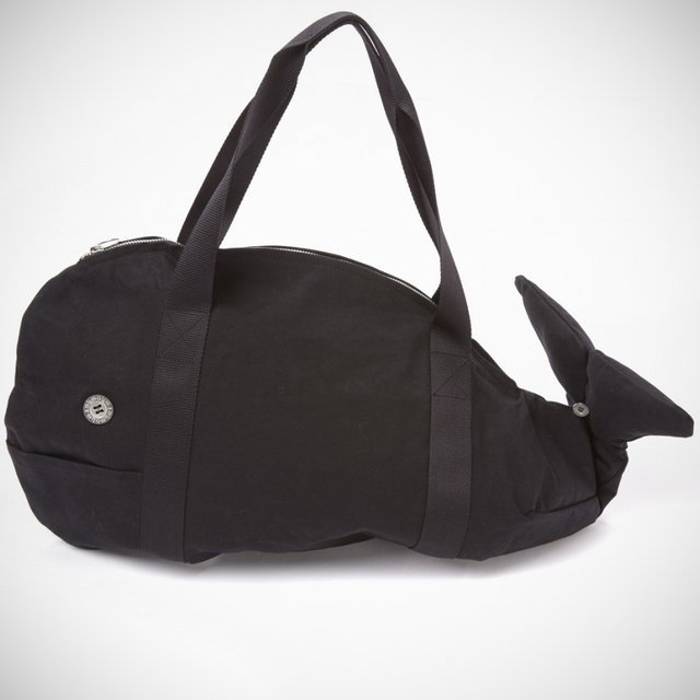 Fancy - Whale Duffle Bag by WhoWhat x YMC
