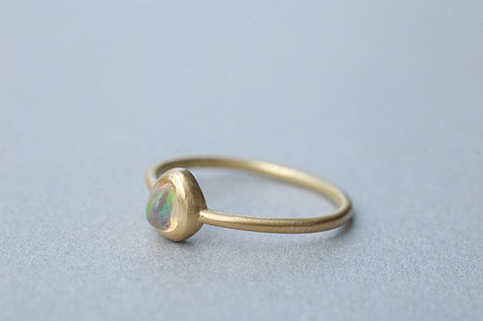 Fire Opal Ring - SOURCE - SOURCE objects