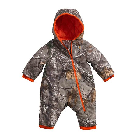 BOY'S INFANT/TODDLER,TWILL, REALTREE® PRINTED SNOWSUIT