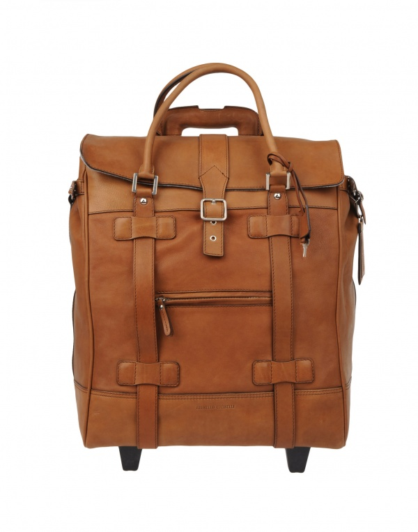 Brunello Cucinelli Wheeled Luggage | The Carry
