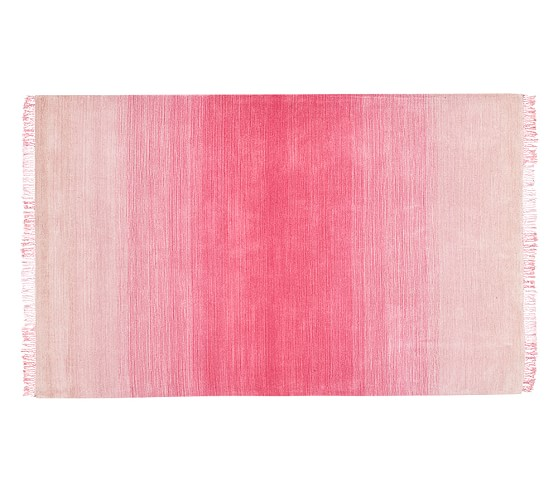 Ombre Rug - Pink | Pottery Barn Kids