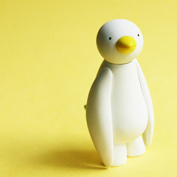 Mr Clement - Action Figure: Ji Ja Bird (White)【デザイナーズトイ】 | Mr Clement : BLISTER - ブリスター