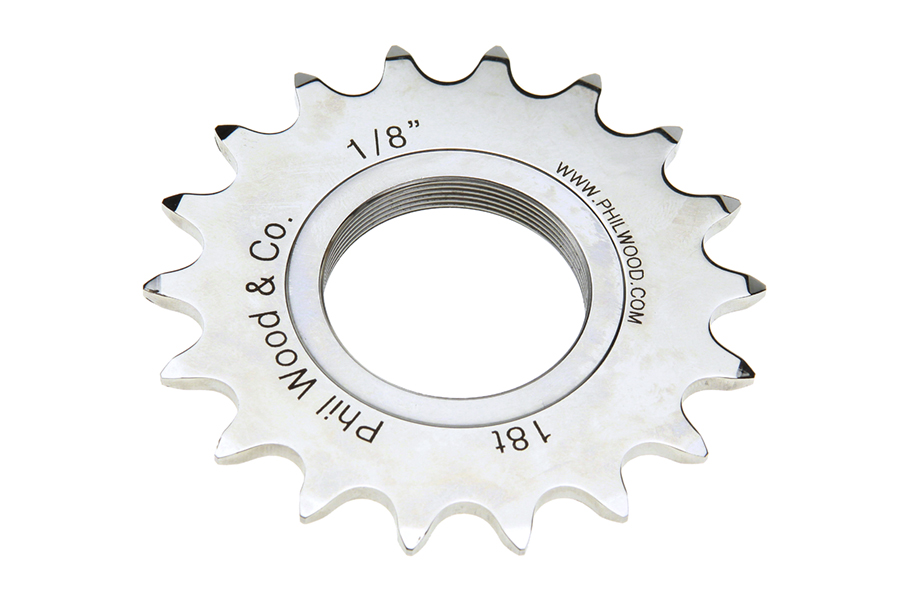 Phil Wood Track Cog - 1/8 - 18t : ? Milwaukee Bicycle Co. ? Ben's Cycle