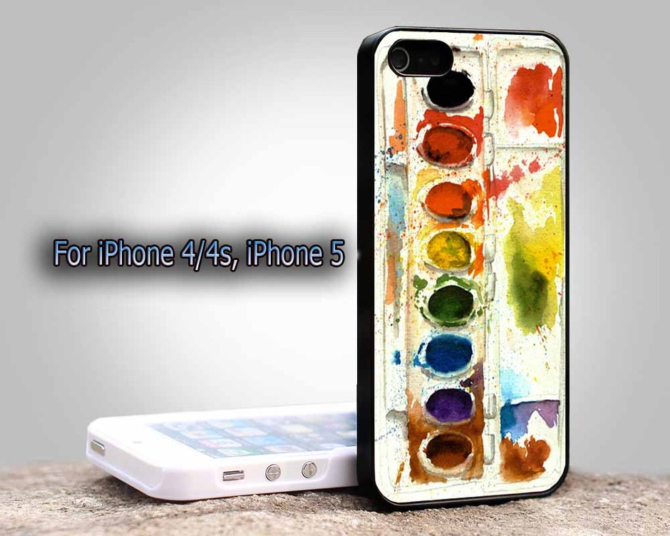 Color Palete For Apple Phone, IPhone 4/4S Case, IPhone 5 Case, Cover Plastic on Luulla